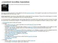 Accumulated Accordion Annotations
