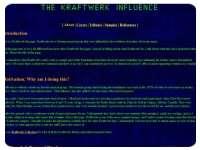 The Kraftwerk Influence