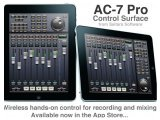 Misc : Saitara AC-7 Pro for iPad - Wireless DAW Control - pcmusic