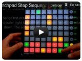 Music Software : Step Sequencer Lauflicht Version 2 for Launchpad - pcmusic