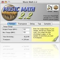 Music Software : MusicMath, a free audio calculator - macmusic