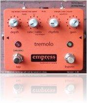 Plug-ins : Empress Tremolo Plug-in - macmusic