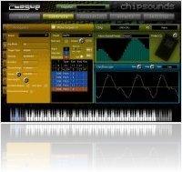 Virtual Instrument : Plogue Chipsounds - Chip Sound Emulator - macmusic
