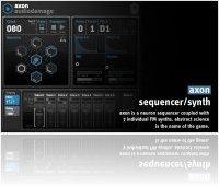 Instrument Virtuel : Audio Damage sort Axon, un séquenceur/synthé virtuel - macmusic