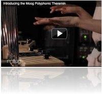 Matériel Musique : Moog Music annonce un Polytheremin pour le MusikMesse - macmusic