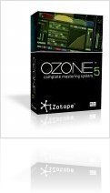 Plug-ins : IZotope Announces Ozone 5 and Ozone 5 Advanced - macmusic