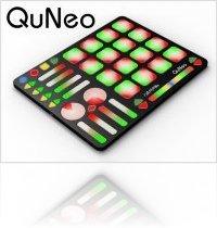 Computer Hardware : QuNeo, Multi-touch MIDI & USB Pad Controller - macmusic