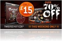 Virtual Instrument : Toontrack EZX Twisted Kit only £15 this weekend! - macmusic