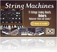 Instrument Virtuel : UVI Lance String Machines - macmusic