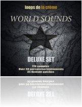 Virtual Instrument : Loops de la Crème Launches World Sounds Deluxe Set - macmusic