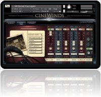 Instrument Virtuel : CineSamples Présente CineWinds Core - macmusic