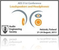 Event : 51st International AES Conference to Focus on Loudspeakers and Headphones - macmusic