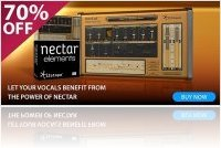 Virtual Instrument : IZotope Nectar Elements - save 70% for a limited time - macmusic