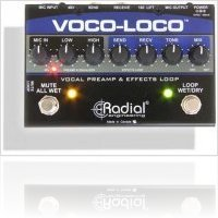 Mat�riel Audio : Radial Voco-Loco - macmusic